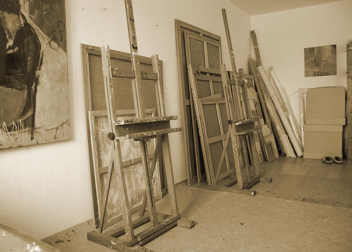Atelier-Einweihung